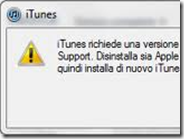 Come risolvere iTunes richiede una versione più recente di Apple Mobile Device Support