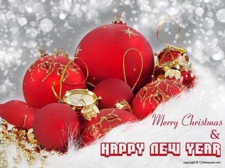 новогодние обои 2013