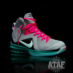 nike lebron 9 ps elite grey candy pink 6 06 LeBron 9 P.S. Elite Miami Vice Official Images & Release Date