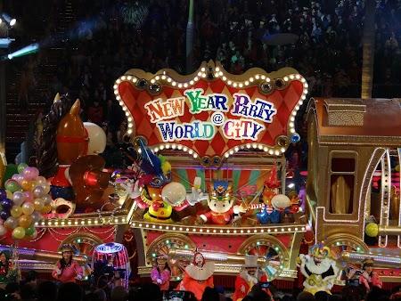 Parada Anul Nou Chinezesc la Hong Kong