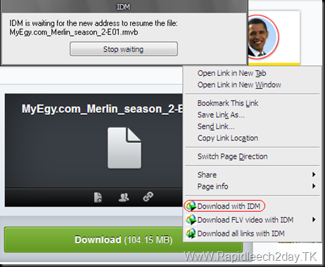 How to Resume Mediafire Downloads With IDM - Tutorial 1