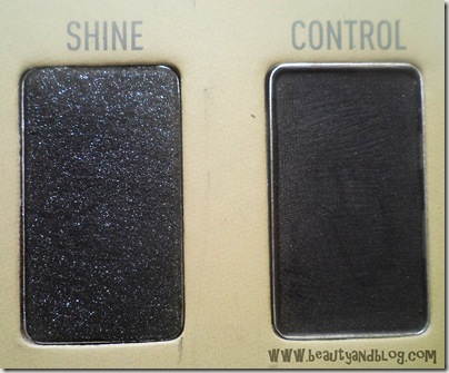 Sigma Beauty Bare Eye Palette Review Swatch Shine Control Swatch