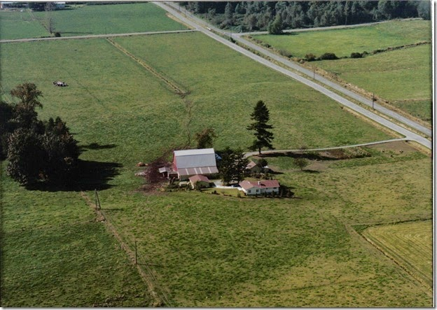 Air Photo of Grandpa & Grandma Roosma's Farm
