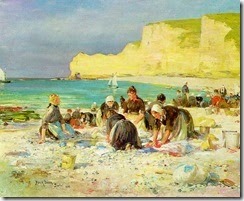 Étretat_by_Henry_A._Bacon