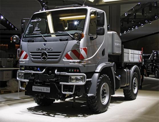 Videos Camiones Mercedes Unimog