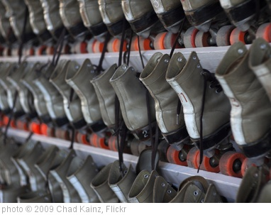 'Roller Skates (or 11)' photo (c) 2009, Chad Kainz - license: http://creativecommons.org/licenses/by/2.0/