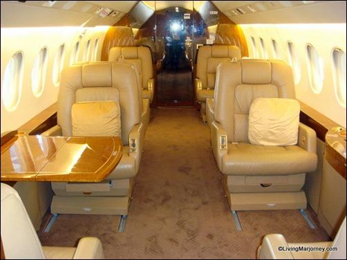 Eight Seater Dassault Falcon 2000LX
