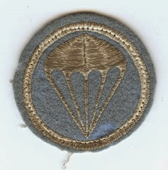 Parachutist patch