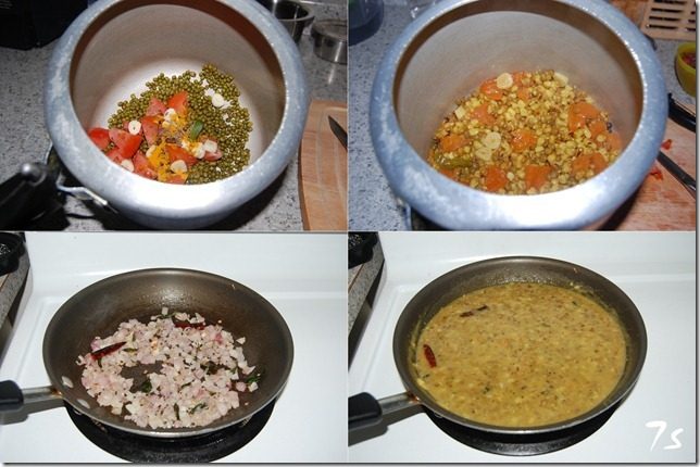 Green gram dal process