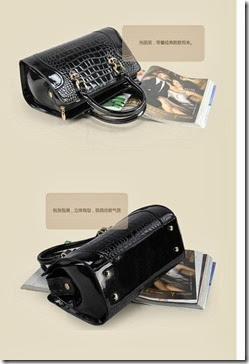 U7728 Black (217.000) - PU Leather, 28 x 20 x 10