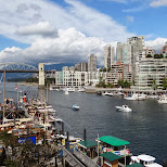 gorgeous view from Granville Island, Vancouver by Matt van Vuuren in Vancouver, British Columbia, Canada