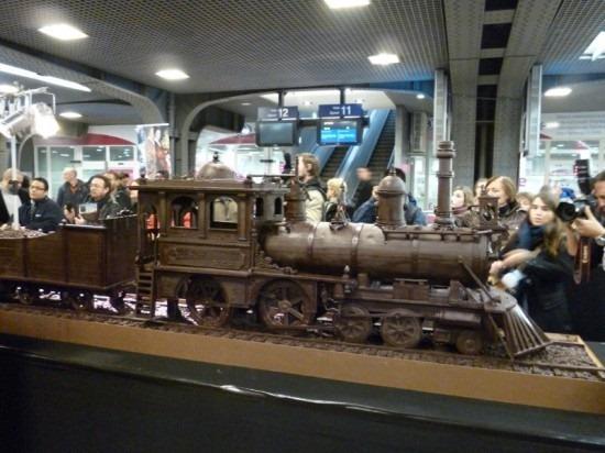 Trem de chocolate Belga 04