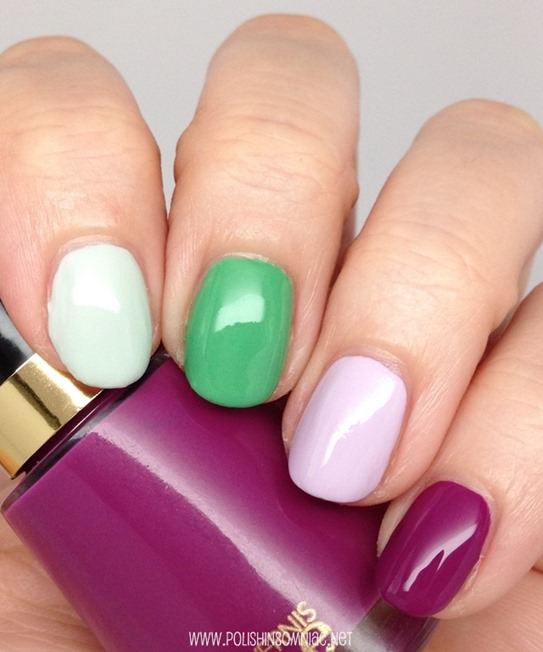 Essie Absolutely Shore, Mojito Madness, Go Ginza and Revlon Oi Beautiful