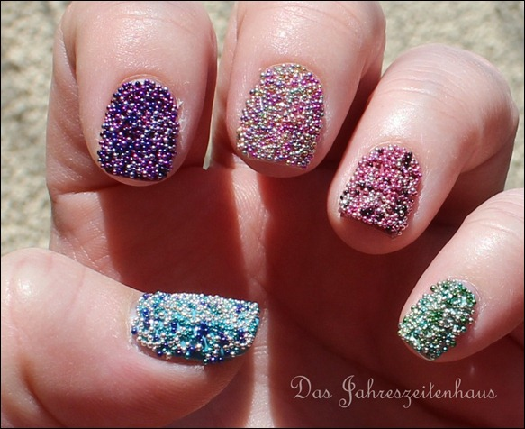 Mikroperlen Micro Pearls Mini Perlen Nail Art 4