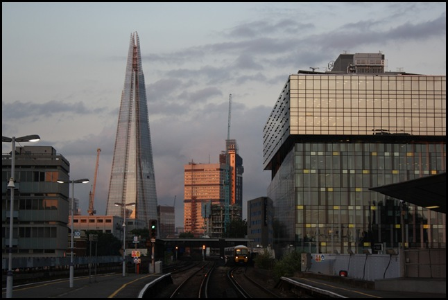 The Shard from London Waterloo East