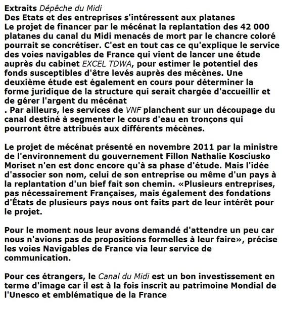 Document article de la DDM Canal du Midi 241212