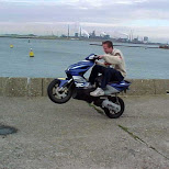 yamaha aerox in IJmuiden, Noord Holland, Netherlands