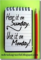 Use it on Monday