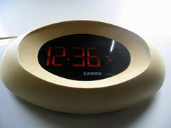 Lumitime C-61 clock