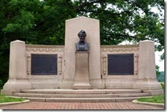 Lincoln Address Memorial in Soldiers' National Cemetery
