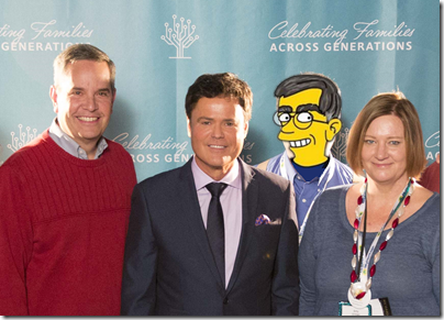 The Ancestry Insider with singer, entertainer Donny Osmond
