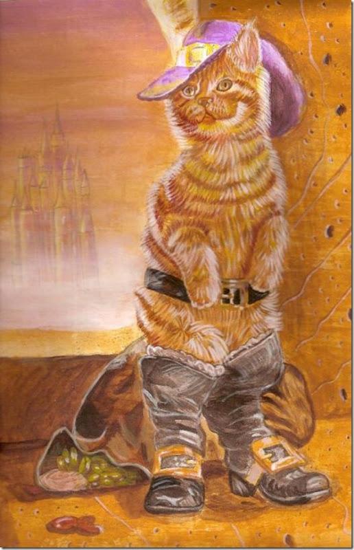 El Gato con Botas,El gato maestro,Cagliuso, Charles Perrault,Master Cat, The Booted Cat,Le Maître Chat, ou Le Chat Botté (30)