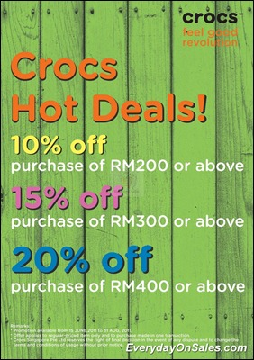 Crocs-Hot-Deals-2011-EverydayOnSales-Warehouse-Sale-Promotion-Deal-Discount