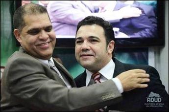 Marcos Pereira e Marco Feliciano