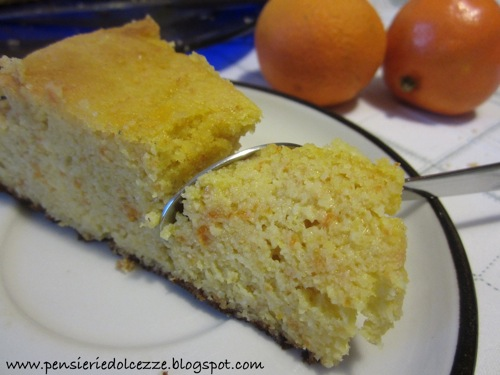 Torta di Clementine e Mandorle 4