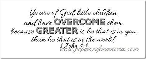 1 John 4:4 WORDart by Karen for personal use