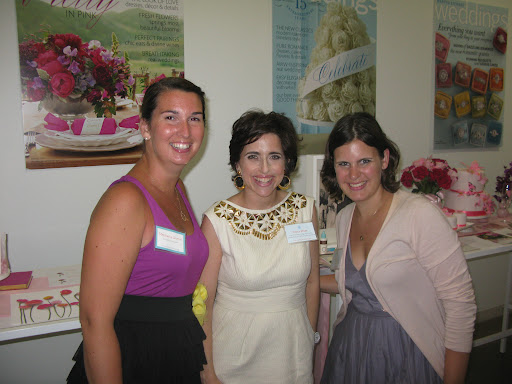 Here I am with Stephanie from Couture Parties (http://www.coutureparties.com/) and Jenn.