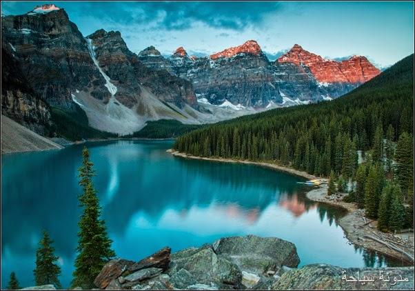 بحيرة لويز كندا