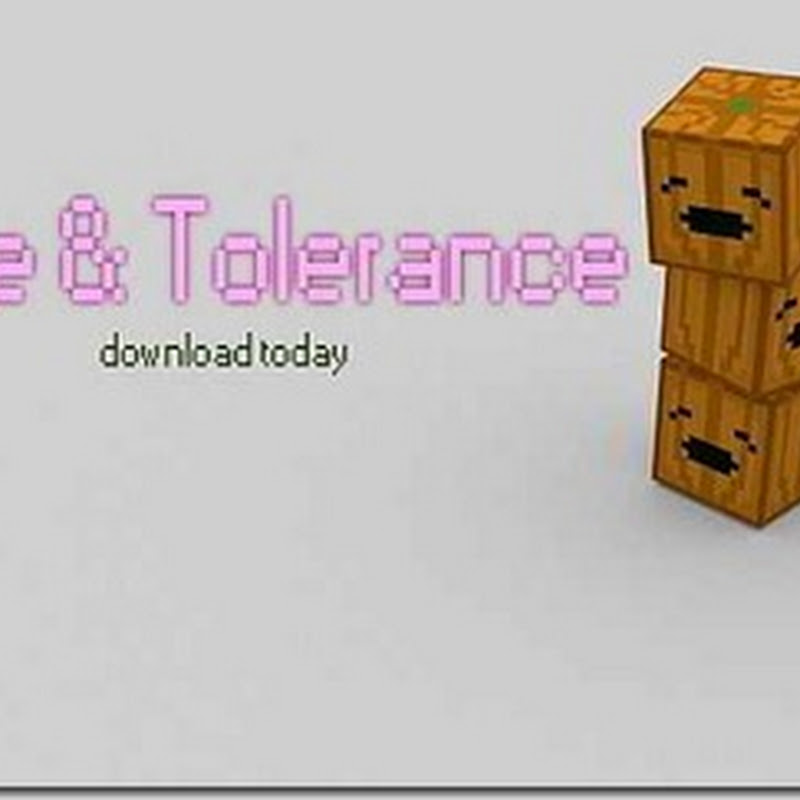 Minecraft 1.2.5 - Love and Tolerance texture pack