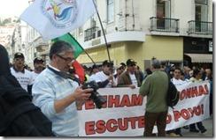 Estivadores contra a precariedade.Nov.2012