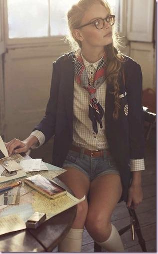 paper work girl