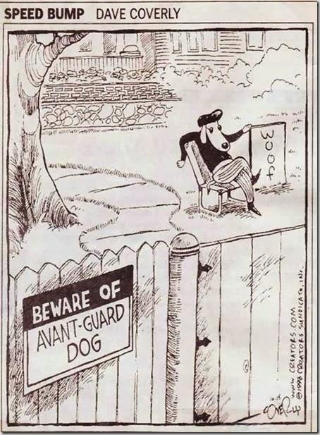 Avant-Guard dog