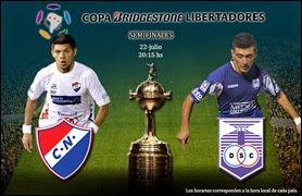 Nacional de Paraguay vs Defensor Sporting de Uruguay, Copa Libertadores
