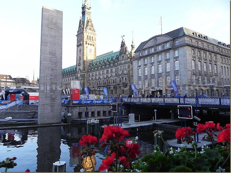 O impressionante prédio da prefeitura de Hamburgo