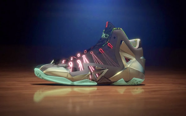 The Nike LeBron 11 Engineered for Powerful Precision