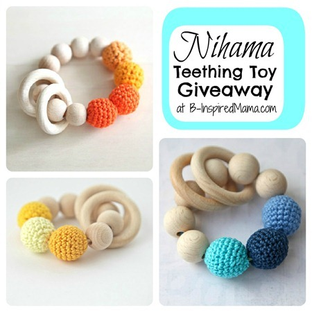 Nihama Teething Toy Giveaway 1