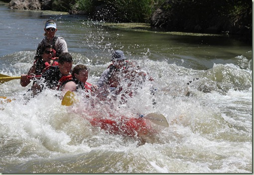 white water rafting worst bit