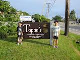 Eidan and Kai at the Toppa Company