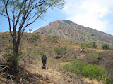 Trekking into the Gunung Baluran complex from the East (Nick Hughes, October 2012)