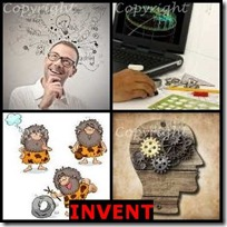INVENT- 4 Pics 1 Word Answers 3 Letters