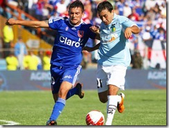 Universidad de chile vs Ohhiggins