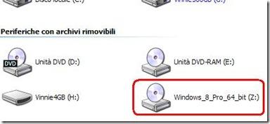 Unità virtuale creata con Virtual CD-ROM Control Panel