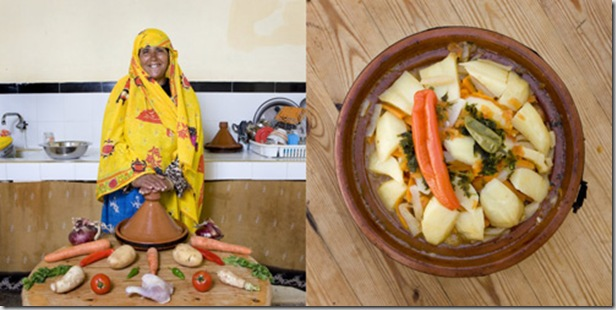 Fatma Bahkach, 59 years old, Aghrimz, Morocco. Bat Bot, Berber bread baked in a pan