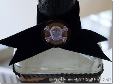 Altered Bottle Closeup