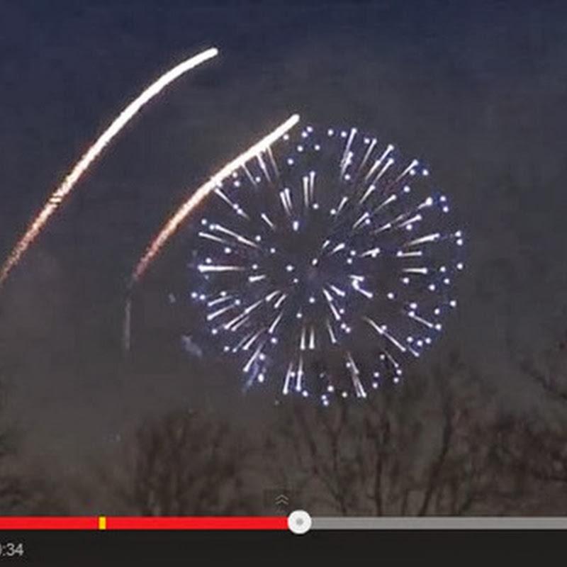 Να πώς κάνουν πυροτεχνήματα στην Γλασκώβη