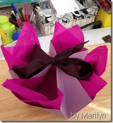 Marilyn's gift box